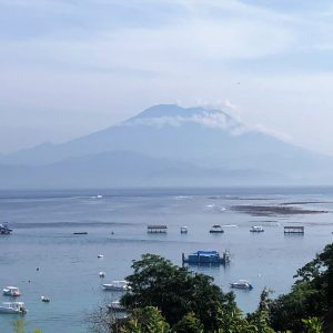 Mt Agung Low Tide